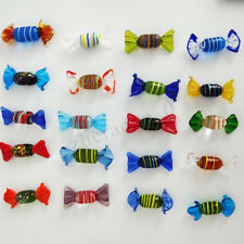 12/24PCS Vintage Murano Glass Sweets Wedding Xmas Party Candy Decorations Gift