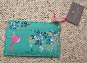 Sara Miller London Chelsea Collection Hummingbird Coin Purse Card Holder