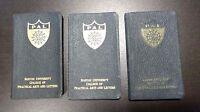 Boston University 1930s Lot (3) Handbooks SGA Practical Arts & Letter Sorority