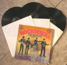 "The Beatles & John Lennon ""Rock N' Roll"" 3x LP Box Set OOP Paul McCartney"