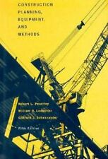 Construction Planning, Equipment and Methods