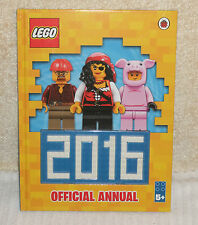 HARDBACK BOOK    *** LEGO OFFICIAL ANNUAL 2016 ***  NEW CONDITION