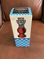 Avon The Queen Chess Piece Oland After Shave 3oz. Empty With Box