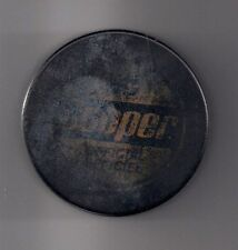 used Official Cooper Hockey Puck made in czechoslovakia (1970's ?)