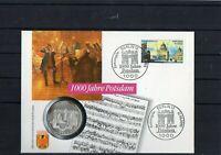 Numisbrief - 10 DM (Silber) - 1000 Jahre Potsdam 1993 mit SST