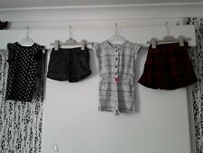 Girls Age 2-3 Years Bundle Shorts Skirt Top Playsuit