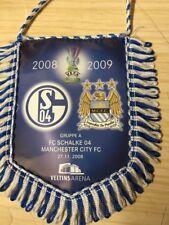 Schalke Vs Manchester City Uefa Cup Banner 2008/09