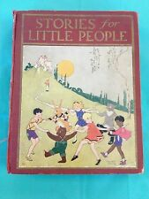Stories For Little People Sears Illustrated Juveniles 1926 Kingsport Press