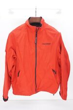 POLO SPORT Red Spellout Logo Embroidered Nylon Windbreaker Jacket - M