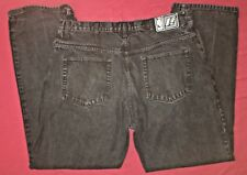 UNK Denim Philadelphia 76ers embroidered patch Black Jeams Mens size 40 NBA