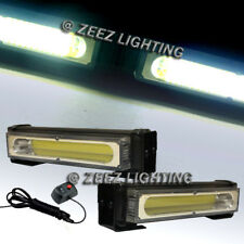 20W White COB LED Emergency Hazard Warning Flash Strobe Beacon Light Bar C14