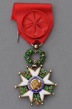 Ordre de la Légion d'Honneur, officier en vermeil, V° République, modèle de luxe