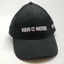 NWOT Volvo CE Masters 2013-2014 Adjustable Black Hat Baseball Cap