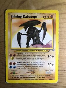 Shining Kabutops 108/105 Neo Destiny Secret Rare Triple Star Holo Pokémon (READ)