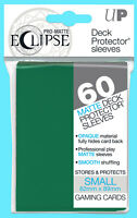 60 ULTRA PRO ECLIPSE FOREST GREEN SMALL PRO-MATTE DECK PROTECTOR Card Sleeves