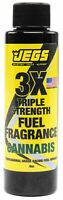 JEGS 63608 Fuel Fragrance Cannabis Scented 4 oz. Bottle Safe for All Internal Co
