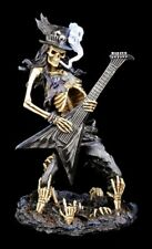 Esqueleto Figura Eje De balancín con guitarra - Play Dead - HEAVY METAL