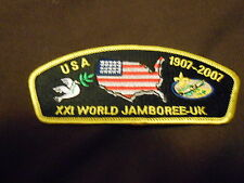 USA 1907 - 2007, XXI World Jamboree JSP