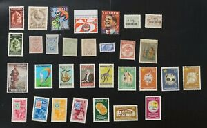 Colombia collection of F/VF MNH few maybe be hinged 2017 cv$26.40 (v083)