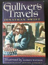 Jonathan Swift Gulliver's Travels Illus. Aldren Watson Illustrated Jr. Library