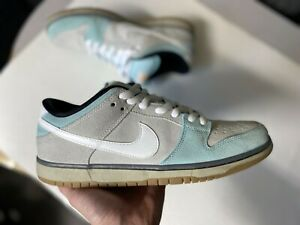 Nike Dunk SB Gulf of Mexico size 12 VNDS glacier ice white light ash grey