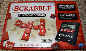 Scrabble Electronic Scoring Game Replacement Parts & Pieces 2014 Hasbro Tiles