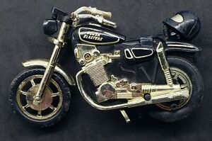 Vintage Matchbox Power Blasters Harley Davidson Motorcycle