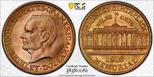 NQC 1916 Gold $1 McKinley PCGS MS 67+ CAC - Rare Graded and No Finer