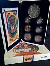 2001 BABY PROOF SET -*INCLUDES COLOURED $1 DOLLAR COIN & FIFTY CENTS*