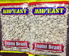 Dry Not Cooked lupini beans 2 bags 24 oz each  lupine Lupinus 3lb total ترمس -