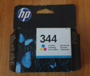 GENUINE HP 344 C9363EE TRI COLOUR INK CARTRIDGE. DATE: 2013, NEW IN SEALED PACK