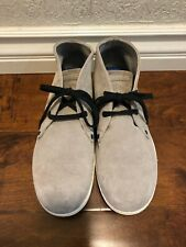 Diesel Mid Town Mens Suede Gray Ankle Boots Size 10.5us /40 Eur