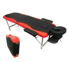 2 section Lightweight Portable Folding Massage Table Bed Tattoo Couch
