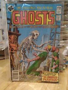 DC Ghosts #81 ~1979 ~fine