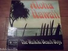 "THE WAIKIKI BEACH BOYS - ALOHA HAWAII 12"" LP - MUSIC FOR PLEASURE - MFP 1336"