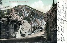 Silver Gate Yellowstone National Park Wyoming Undivided Back 1905 Postcard