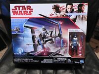Star Wars VIII Class B Vehicle Wave 1 Canto Bike with 3 3/4 inch Action Figure