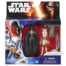 Star Wars Rebels 3.75-Inch Figure 2-Pack Darth Vader Vs. Ahsoka Tano