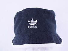 ADIDAS ADULT S/M BLACK/WHITE TERRY TOWEL BUCKET HAT BY ADIDAS D147