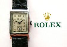 Rolex ♛ Marconi Art Deco Antique Elegant rare Luxury Collectors Men's Watch 1926