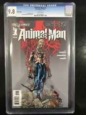 ANIMAL MAN # 1 Third Printing! / The New 52! / CGC 9.8 / DC COMICS / Nov 2011