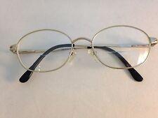 Fundamentals Eyeglasses FRAMES F107 Silver 52[]17 135