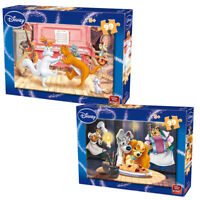 Childrens 99 Piece Disney Jigsaw Puzzle Cartoons Lady & The Tramp & Aristocrats