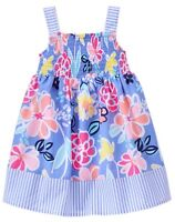 NWT Gymboree Sugar Reef Floral Smock Dress 18-24m,3T,5T
