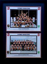 New 2018 Sydney Roosters NRL Grand Final Premiers Print Framed