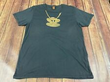 Paul Frank Men's Gray Monkey Chain T-Shirt - Large