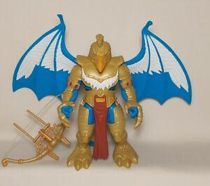 Vintage Disney Gargoyles Goliath Battle Doubles Fearsome Griffin Eagle Armor