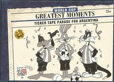 UPPER DECK WORLD CUP USA 1994-LOONEY TOONS-#097-TICKER TAPE PARADE FOR ARGENTINA