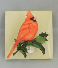 Marjolein Bastin Nature's Journey Cardinal Bird Night Light NIB 16945 HTF