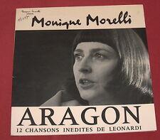 MONIQUE MORELLI   LP ARAGON  LEONARDI